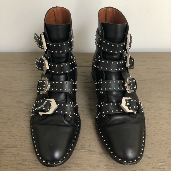 273474a68e75 Givenchy Shoes - Givenchy Studded Leather Ankle Boot